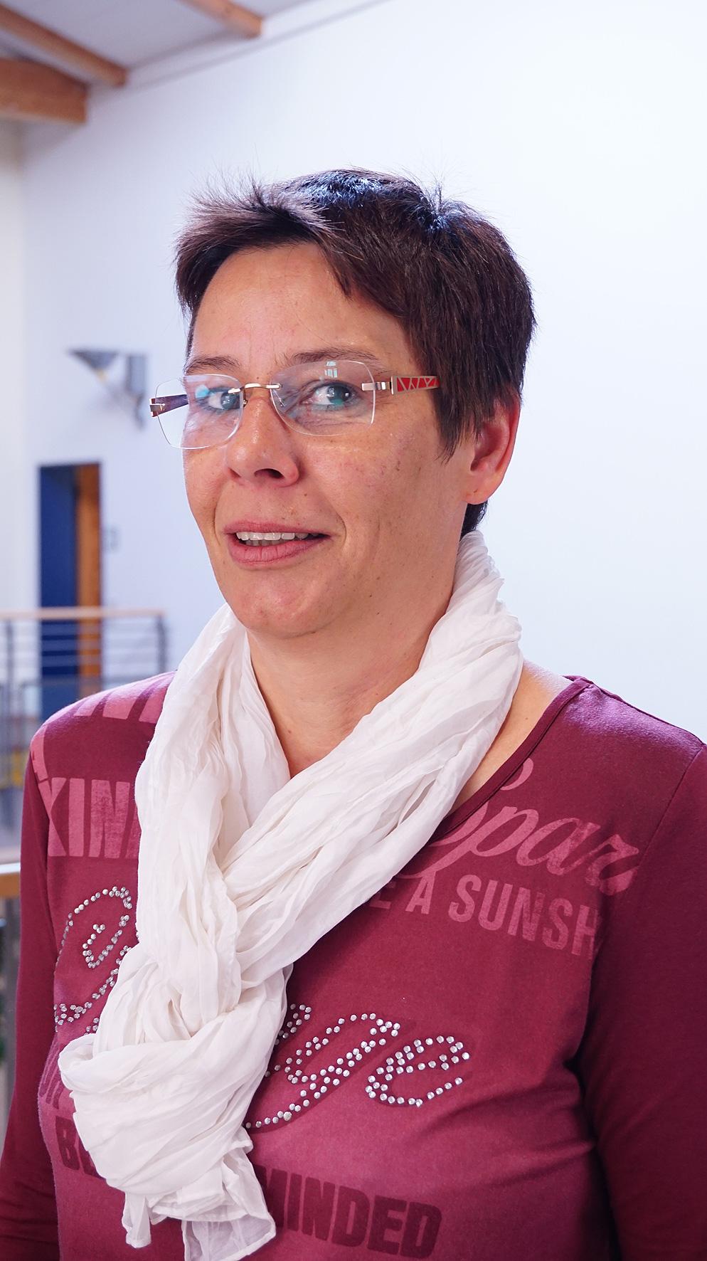 Angelika Bölker (Sekretariat)